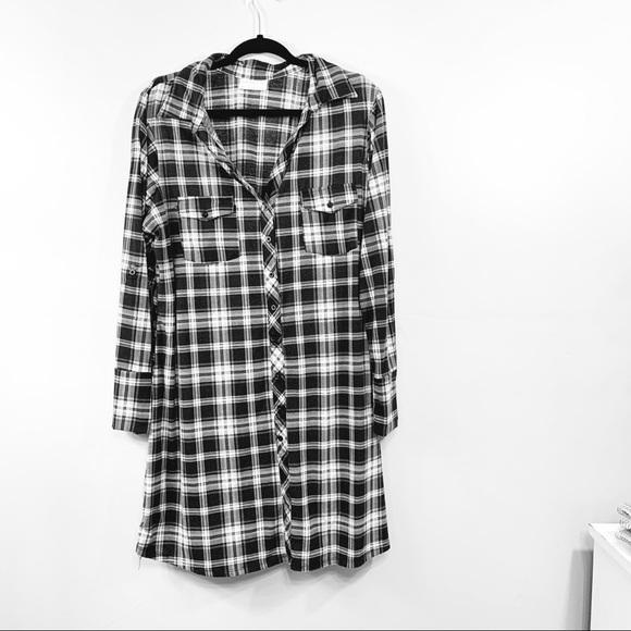 Bobbie Brooks Dresses & Skirts - Plaid Long Flannel Dress   114